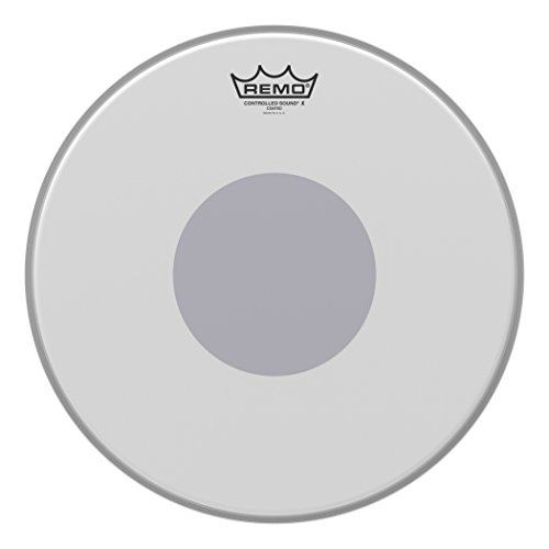 Remo Parche Drum Head Controlled Sound x blanco rugoso,