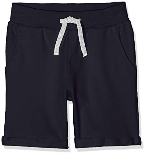 Name It Nkmvermo Long SWE Shorts Unb Noos Pantaloncini, Blu (Dark Sapphire Dark Sapphire), 164 Bambino