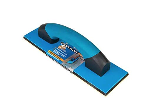 TROXELL USA - 4 x 12 Gum Rubber Grout Float with Soft Grip Handle