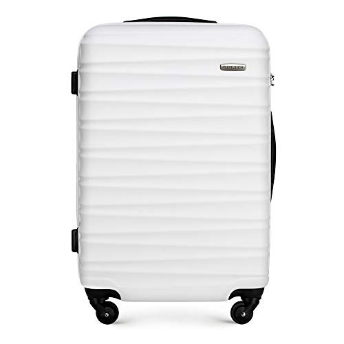 WITTCHEN GROOVE Line Bagaglio a mano, 67 cm, Bianco (Weiß)
