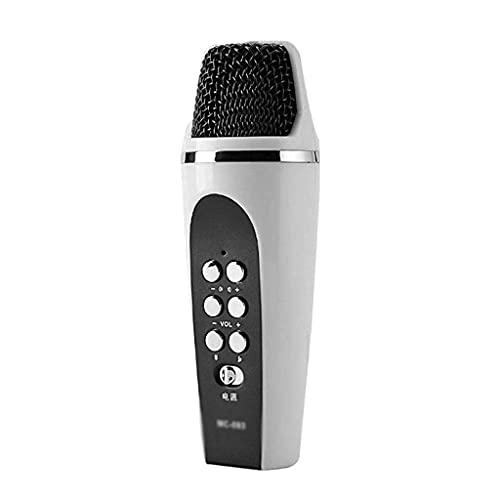 Micrófono Tarjeta de Sonido Computadora Juego en Vivo Chat de Voz Micrófono de Mano Micrófono de conversión de Voz Micrófonos vocales