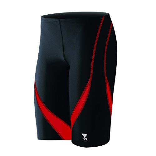 TYR Alliance Splice Jammer Swimsuit, Black Red, Size 32