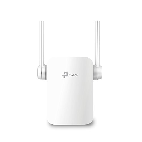 TP-Link RE205 AC750 Universal Wireless Dual Band Range Extender, Broadband/Wi-Fi Extender, WiFi Booster/Hotspot with Ethernet Port, 2 External Antennas, Plug and Play, Smart Signal Indicator, 750Mbps