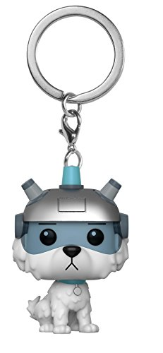 Funko 32351 Pocket POP Keychain: Rick and Morty: Snowball