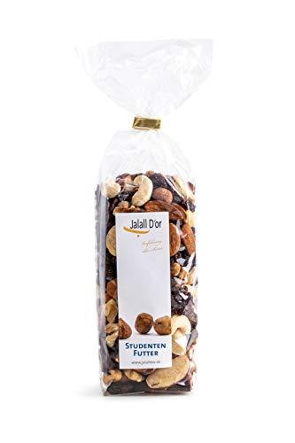 Jalall D'or Studentenfutter Nussmischung – die gesunde, natürliche Nervennahrung in Bio-Qualität, 250 Gramm