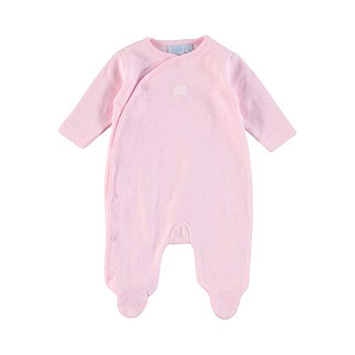 Feetje Le dors-bien bébé grenouillère, rose