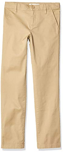 Amazon Essentials Slim Uniform Chino Pants, Caqui, 6(S)