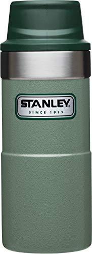 Stanley Legendary Classic Einhand-Vakuum-Thermobecher 0.35 L, 18/8 Edelstahl, Doppelwandig Vakuumisoliert, Isolierbecher Kaffeebecher Teebecher Trinkbecher