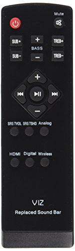 Beyution New Replaced Sound Bar Remote Control Fit for More Vizio Brand Sound Bar SB4021E-B0