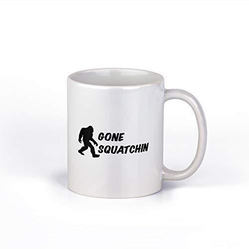 Taza de café Gone Squatchin | Bigfoot taza de café | taza de café de 11 onzas | M198