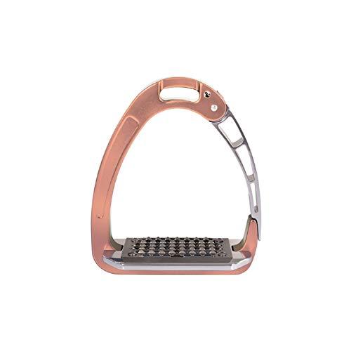 Acavallo Arena Aluplus Safety Steigbügel Sicherheitssteigbügel rosé Gold