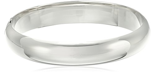 amazon collection inspired silver bracelets Sterling Silver Larger Wrist Guard and Hinge Bangle Bracelet