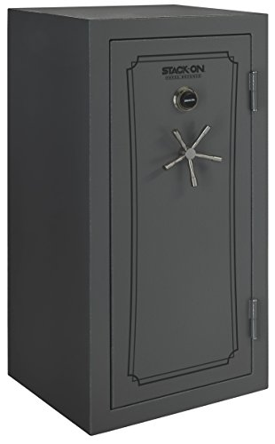 Stack-On TD-40-GP-C-S Total Defense 36-40 Gun Safe with Combination Lock , Gray Pebble