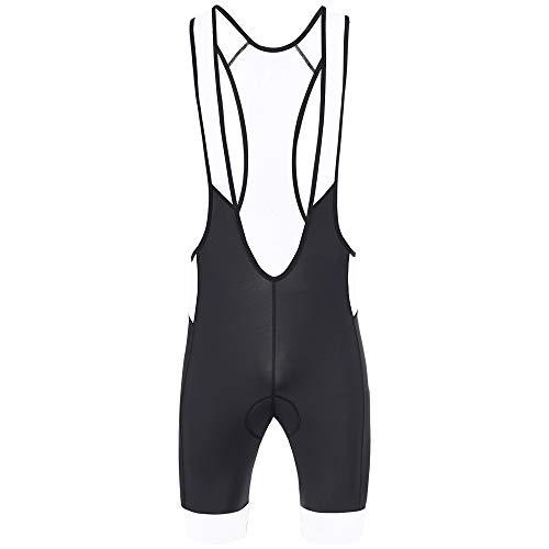 CGLRybO Mens Cycling Bib Shorts Comfortable Coolmax Padded Moisture Wicking...