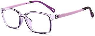 Kids Blue Light Blocking Glasses for Girl Anti Eyestrain Reading Glasses Gaming Eyeglasses Light Weight Classic Frame for ...