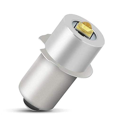 Lampada Torcia a LED Torcia ad alta Potenza LED Lampadina di Aggiornamento 5W 6-24V Parte di Ricambio Kit di Conversione LED Lampadine LED ad alta Luminosità Lampada di Lavoro di Emergenza Torcia di R