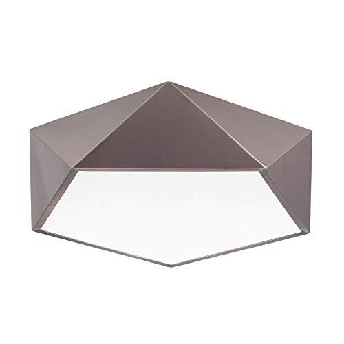 Nova Luce Darius Deckenleuchte 40 x 40 cm - Bronze