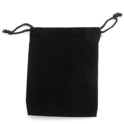 """GYBest Best 50 Pack 3"""" X 4"""" Wholesale Black Velvet Cloth Jewelry Pouches/Drawstring Bags"""