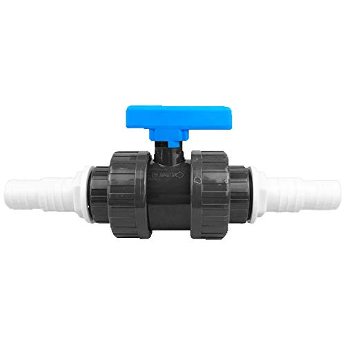 well2wellness® PVC Kugelhahn mit Druckschlauchtülle 32-38 mm