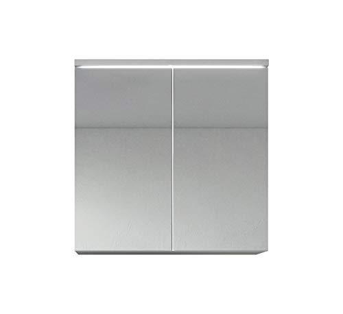 """Badezimmer-Spiegelschrank """"Toledo"""", 60cm, weiß, Stauraum-Unterschrankmöbel mit Doppeltür"""