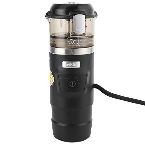 Qqmora Máquina de café portátil Segura de 12 V, máquina de café de Viaje, cafetera de Viaje, cafetera de 12 V, máquina de café Estable para automóvil, Nailon para automóvil para automóvil