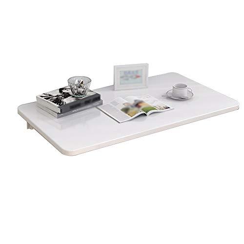 BJL Faltbarer Wandtisch Mocowany na ścianie regał magazynowy biały stół do ściany zamocowany fałdowany na biurku pod komputer skrzynka na listy (wymiary: 70 cm x 40 cm)