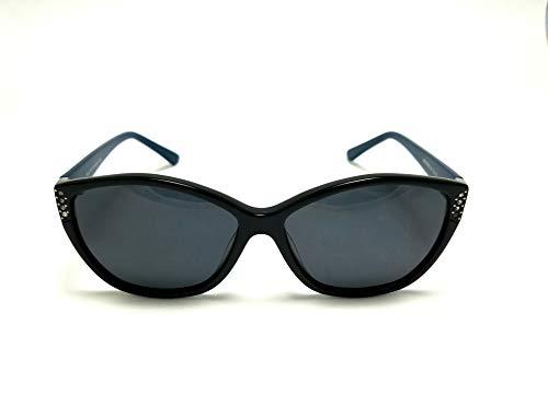 Tendence T17 512 - Gafas de sol (57 mm), color negro y gris