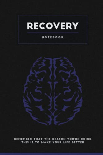 Recovery Notebook: Motivational, Addiction, Recovery Self-Help Notebook