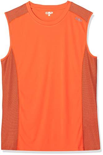 CMP 38T6897T T-Shirt Homme, Orange, 56