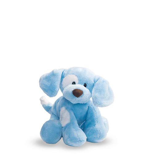 Baby GUND Spunky Dog Stuffed Animal Plush Sound Toy, Blue, 8'