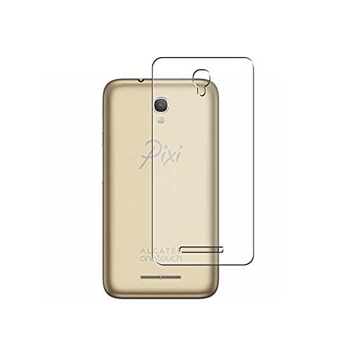 Vaxson 2 Stück Rückseite Schutzfolie, kompatibel mit Alcatel One Touch Pixi First 4024D, Backcover Skin TPU Folie [nicht Panzerglas/nicht Front Bildschirmschutzfolie]