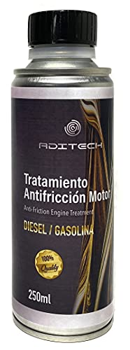 Tratamiento Antifricción para Motor. Lubrica las partes...