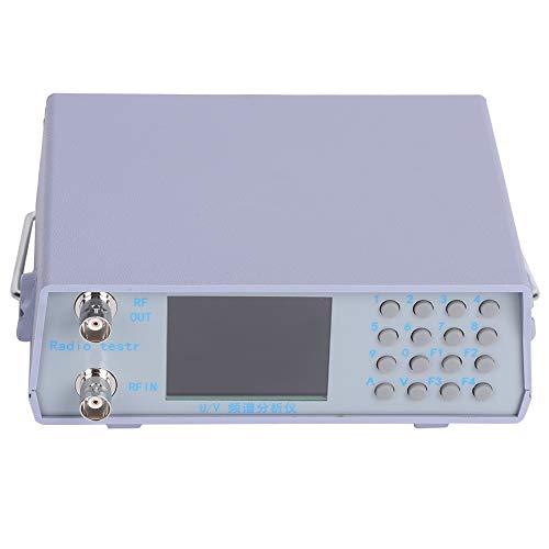 Analizador de espectro de señal Eujgoov, probador de doble banda de frecuencia ultra alta + muy alta con seguimiento de fuente de 136-173 MHz / 400-470MHz