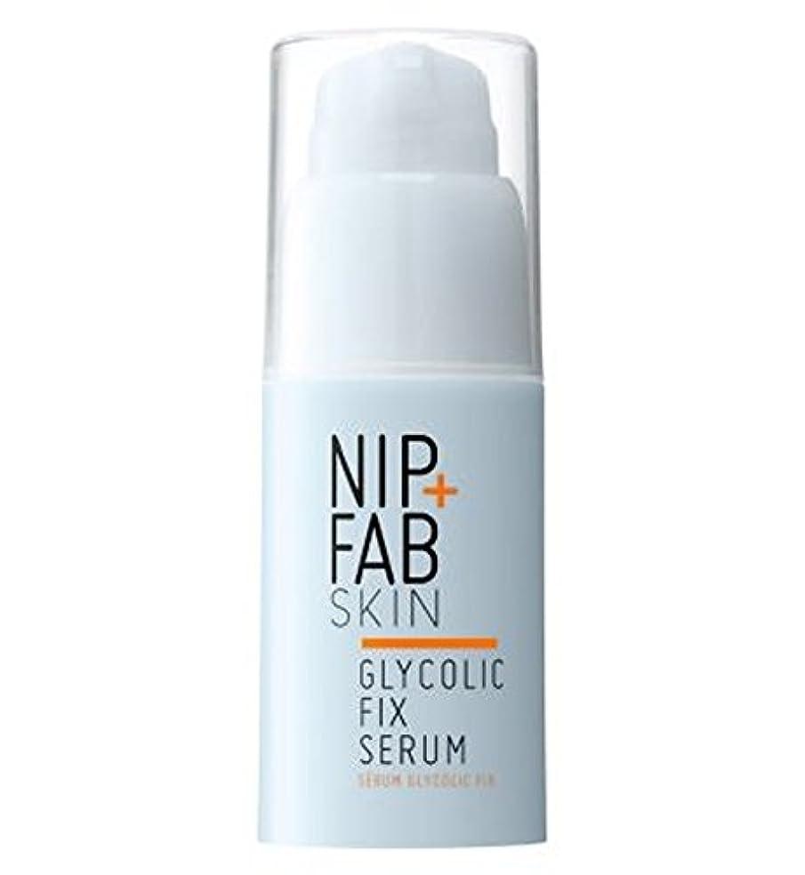 スリラー賠償進むNip + Fab Glycolic Fix Serum 30ml - +ファブグリコール修正血清30ミリリットルニップ (Nip & Fab) [並行輸入品]