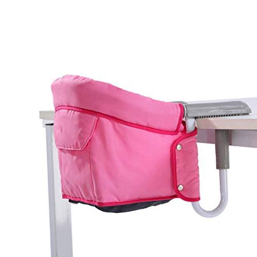 Kinderstoelen Kinderstoel Draagbare Tafelzijdestof Blauw/Roze Makkelijk schoon te maken en te cultiveren Baby Onafhankelijkheid Vermogen A+ 2#