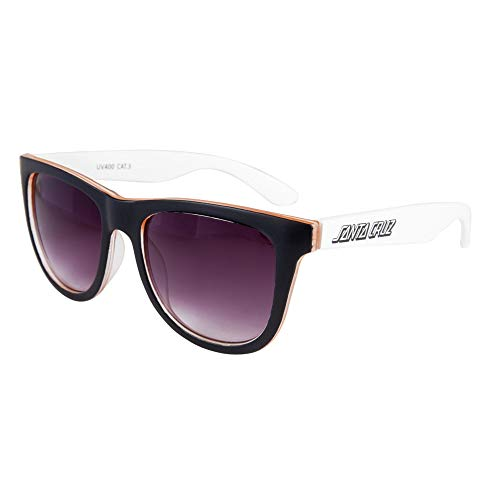 Santa Cruz Bench zonnebrillen – wit/oranje