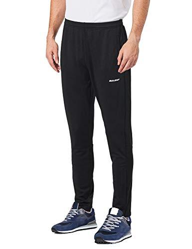 BALEAF Men's Soccer Warm Up Pants Running Training Jogging Zip Leg