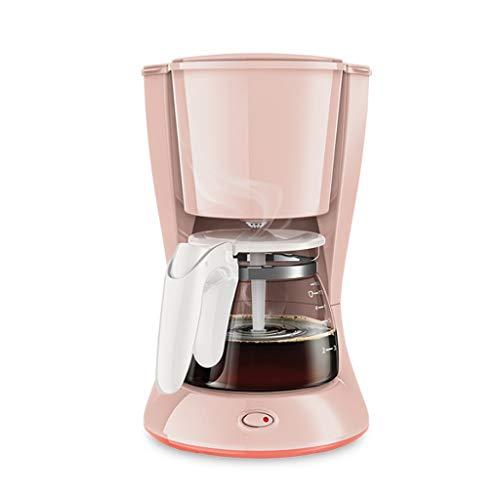 NXYJD KFJDQDL Multifunctional Household Drip Coffee Machine Pink Small Teapot Coffee Pot Household Drip Automatic