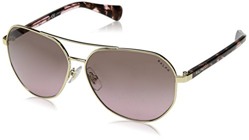 Ralph Lauren Ralph by Damen 0Ra4123 324613 59 Sonnenbrille, Gold (Light Gold/Smoke Gradient)
