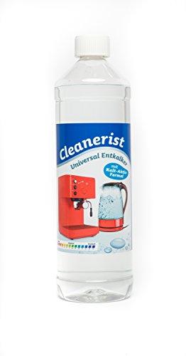 Cleanerist - Descalcificador universal para cafeteras automáticas y máquinas de café | Adecuado para todas las marcas conocidas | Eliminador de cal extra profundo – 1000 ml