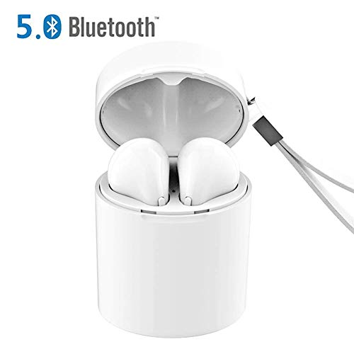 Auriculares Bluetooth 5.0, Cascos Sin Cable Estéreo Auriculares en la Oreja...