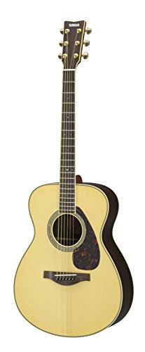 Yamaha L-Series LS6 Concert Size Acoustic-Electric Guitar - Rosewood, Natural