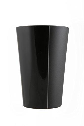 Mojito Design Ligne Verre Cocktail, Noir, 6 unités