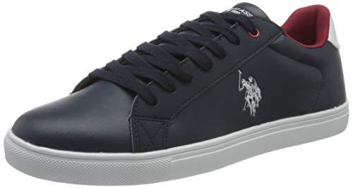 U.S. POLO ASSN. Tun, Sneaker Uomo, Blu (Dk Bl 002), 43 EU
