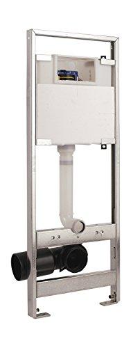 Eck-Vorwandelement für Wand-WC , verzinkt