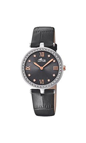 Lotus Watches Reloj Análogo clásico para Mujer de Cuarzo con Correa en Cuero 18462/4