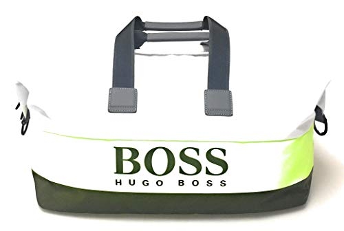 BOSS Pixel ST Holdall Weekender 52 cm Bright Green