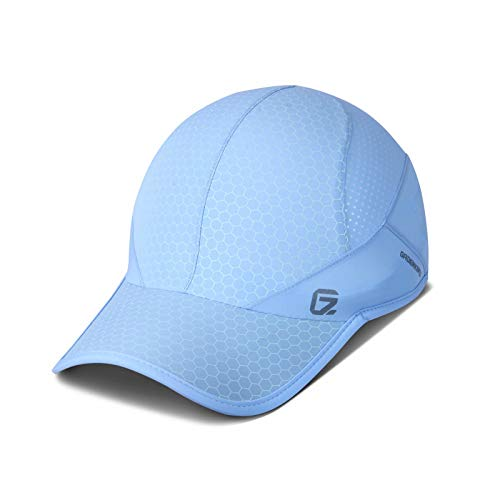 Sport Cap,Soft Brim Lightweight Waterproof Running Hat Breathable Baseball Cap Quick Dry Sport Caps Cooling Portable Sun Hats for Men and Woman Performance Workouts and Outdoor...
