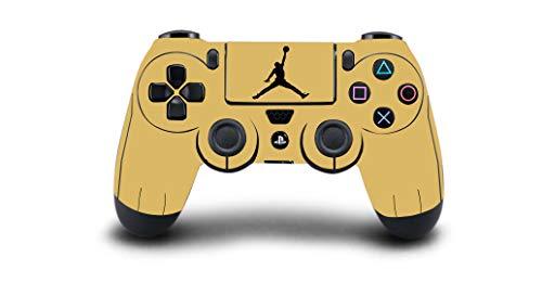 PS4 Controller Vinyl Sticker Decal Skin Wrap Scratch Protection - Air Jordan Basketball Logo Design - PlayStation 4 Controller
