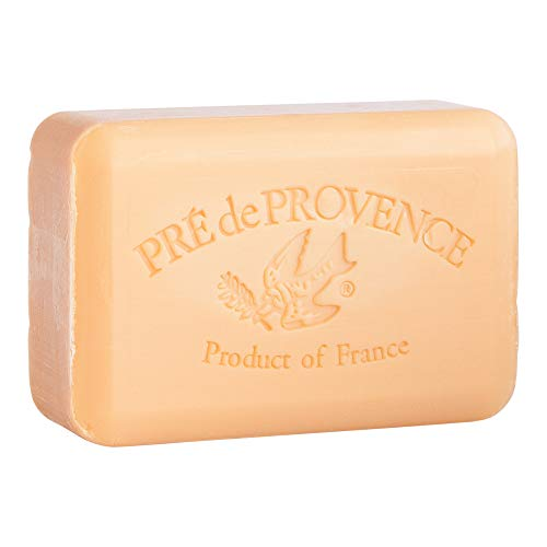 Pre de Provence Artisanal French Soap Bar Enriched with Shea Butter, Persimmon, 250 Gram